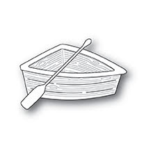 Poppystamps Die - Wooden Rowboat