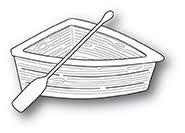 Poppystamps Die - Wooden Rowboat