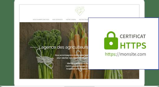 Création d'un site paris 5