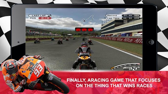 MotoGP Racer- screenshot thumbnail