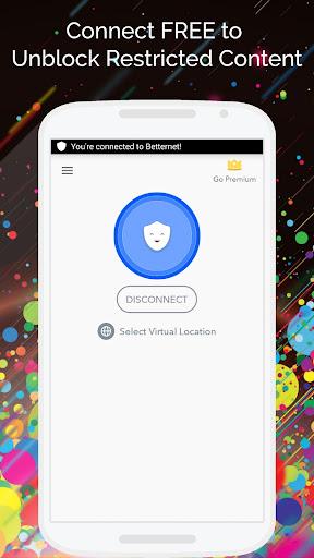 Free VPN – Betternet VPN Proxy & Wi-Fi Security v3.9.3 [Unlocked]
