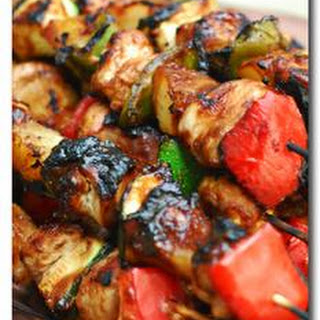 Chicken Skewers.