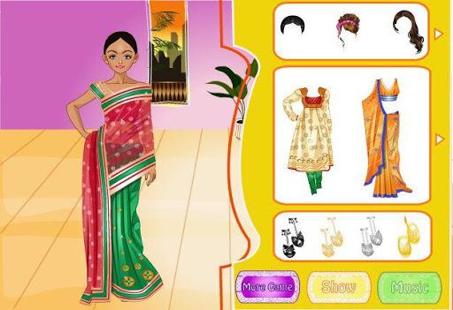 Indian Bride Dress Up Makeover