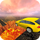Wall Of Lava Volcano Cars 3D APK