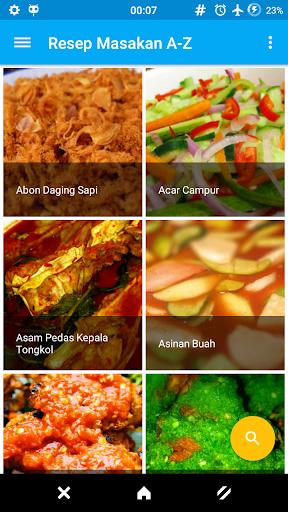 Resep Masakan Offline A-Z