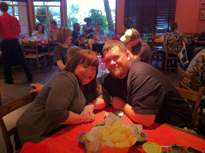 Photo: So guess what we did? We went out on a date!