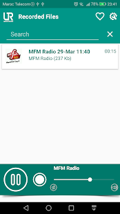 URadio - Free Online Radio & Audio Recorder Screenshot