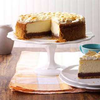 S'mores Summertime Cheesecake.