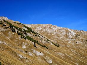 Photo: Das Gipfelkreuz der Schauerwand ist bereits zu sehen.