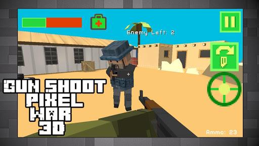 ピクセルスナイパー - キューブ戦争 3D