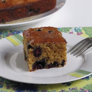 Melissa Clark's Maple Blueberry Tea Cake or was that Pan-Cake?