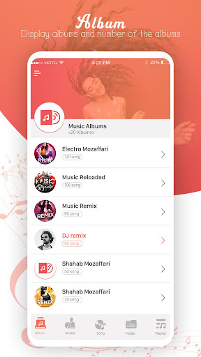MP3 player screenshot 1