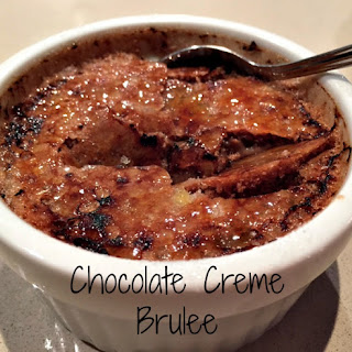 Chocolate Creme Brulee.