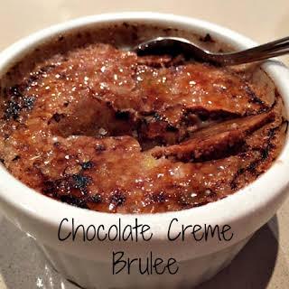 Chocolate Creme Brulee.