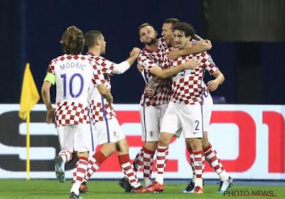 La Croatie valide son billet pour le Mondial