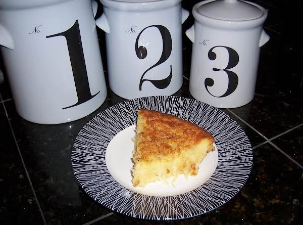 Easy Eggnog Coconut Pie Recipe