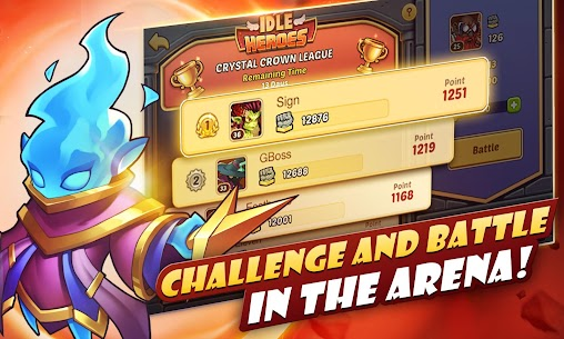 Idle Heroes MOD Apk 1.11.0 (Unlimited Gems) 5
