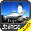 Lake Winnebago gps navigator icon