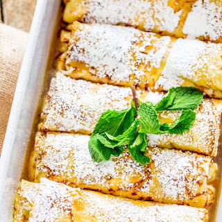 Maple Ricotta Stuffed Crepes Recipe