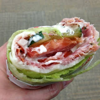 Low Carb Sub Sandwiches.