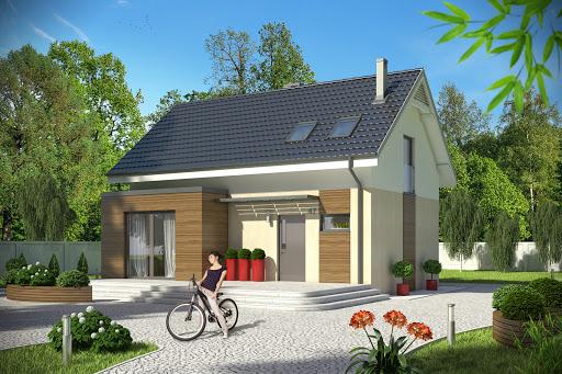 projekt Eco 1 bez garażu B