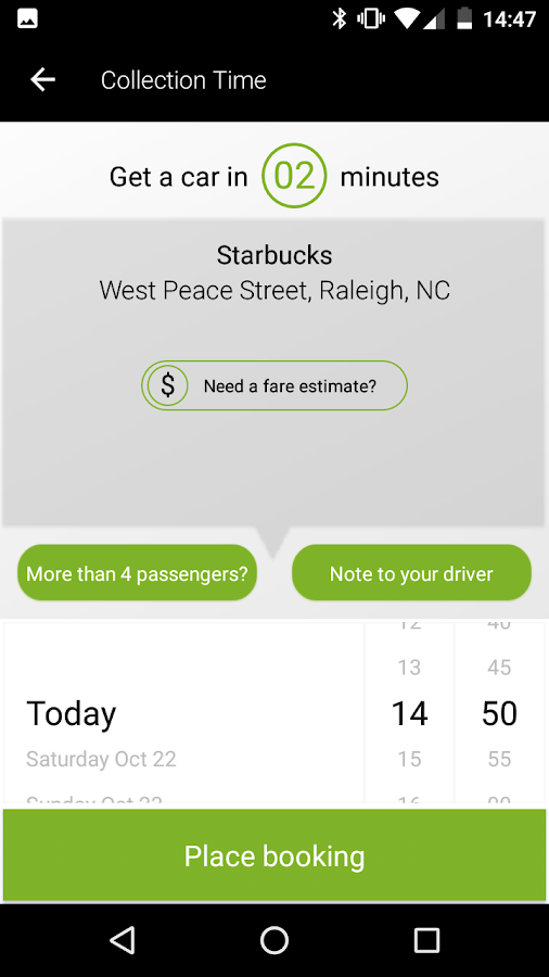 Taxi Taxi Mobile Raleigh- screenshot