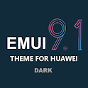 Dark Emui-9.1 Theme for Huawei icon