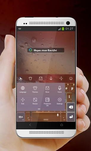 無料个人化Appのマグマ水蒸気 TouchPal 皮膚Hifu|記事Game
