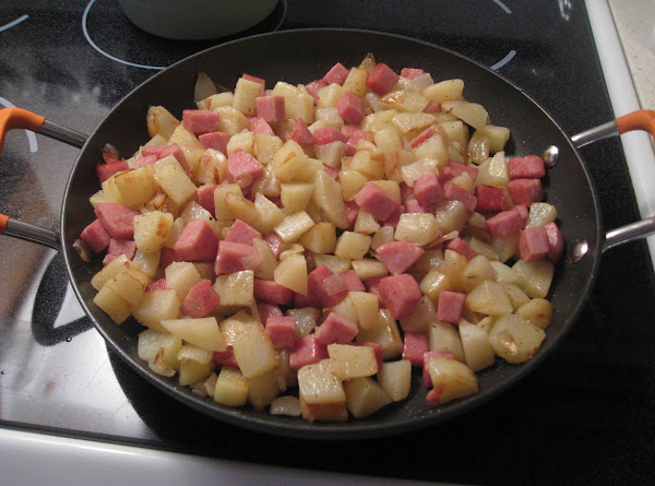 Fried Spam And Potatoes-kl Recipe