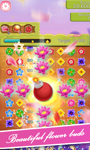 android Blossom Blast Paradise Fever Screenshot 1