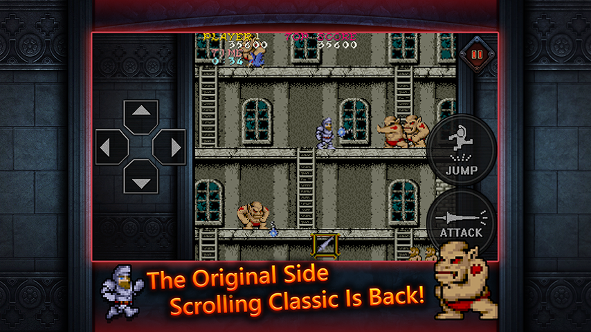 Ghosts'n Goblins MOBILE- screenshot