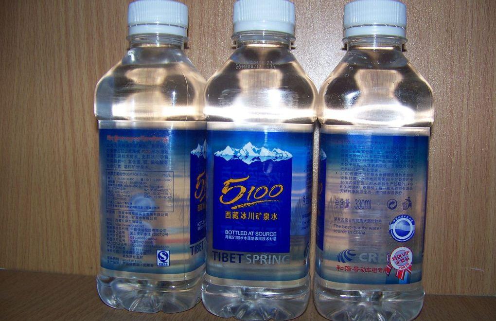 Грязная бутилированная вода