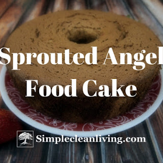Sprouted Angel Food Cake
