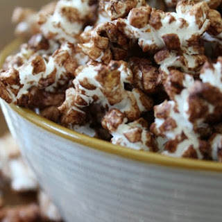 Chocolate Coconut Popcorn Recipe - Healthy Lifestyle Approved
