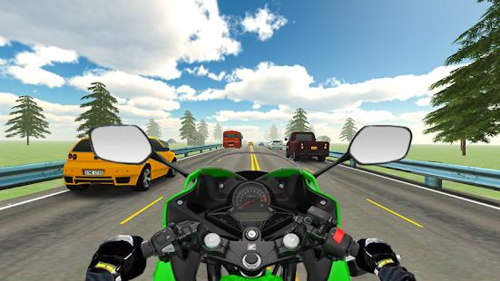 VR Highway Real Traffic Bike Racer ? - náhled