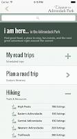 Screenshot of Discover the Adirondack Park