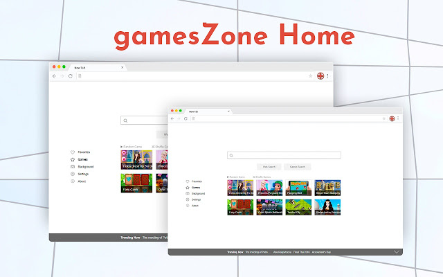 gamesZone Home