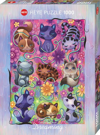 Dreaming: Kitty Cats (1000 pieces)