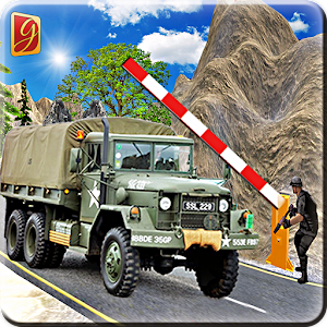 Drive Army Check Post Truck for PC and MAC