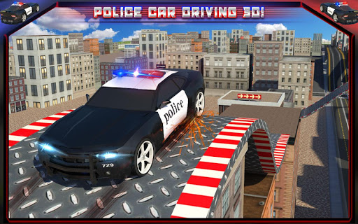 Police Car Rooftop Training screenshot 11