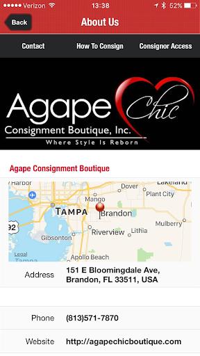 Agape Chic Boutique screenshot 2