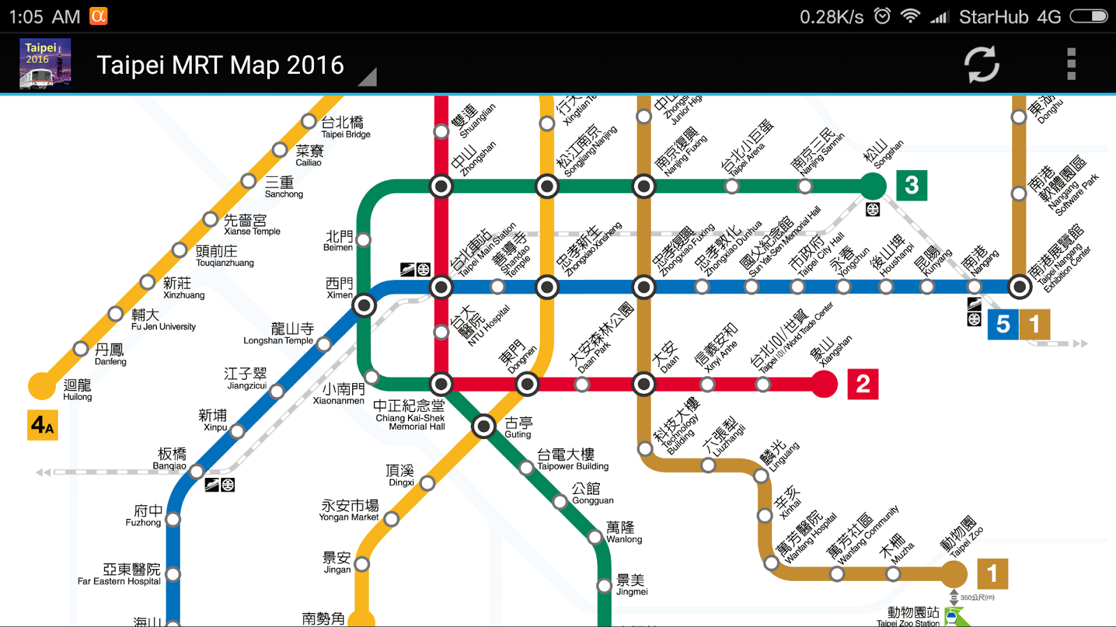 taipei mrt map 2017 taiwan android apps on google play