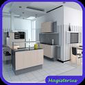 Kitchen Interior Design icon
