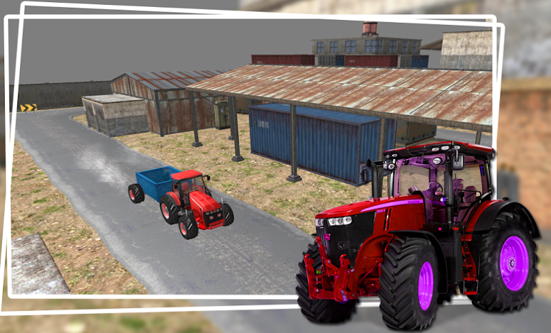 android Industrial Simulator Tractor Screenshot 2