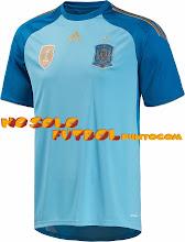 Photo: España Portero 1ª Mundial 2014  * Camiseta Manga Corta * Camiseta Manga Larga