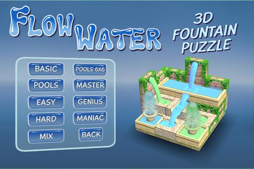 Flow Water Fountain 3D Puzzle Screenshots 1