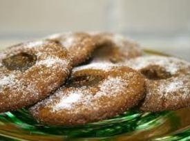 Old Fashioned Molasses Thumbprint Cookies Recipe