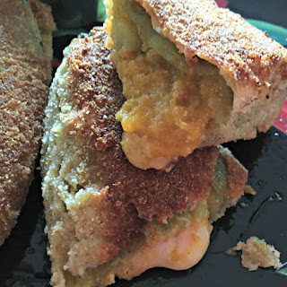 Butternut Squash Rellenos #HatchGreenChile.