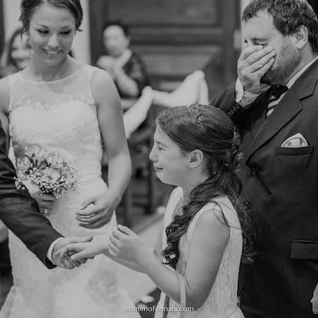 Wedding photographer Jerónimo Fermani (jeronimofermani). Photo of 15.12.2016