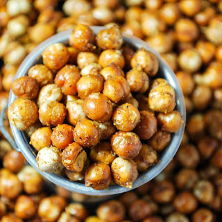 Curry Roasted Chickpeas.